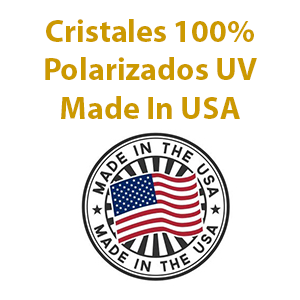Cristales 100% Polarizados UV Made In USA